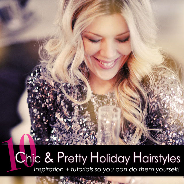 10 pretty hairstyles from my archive to inspire your holiday 10 pretty holiday hair styles solutioingenieria Gallery