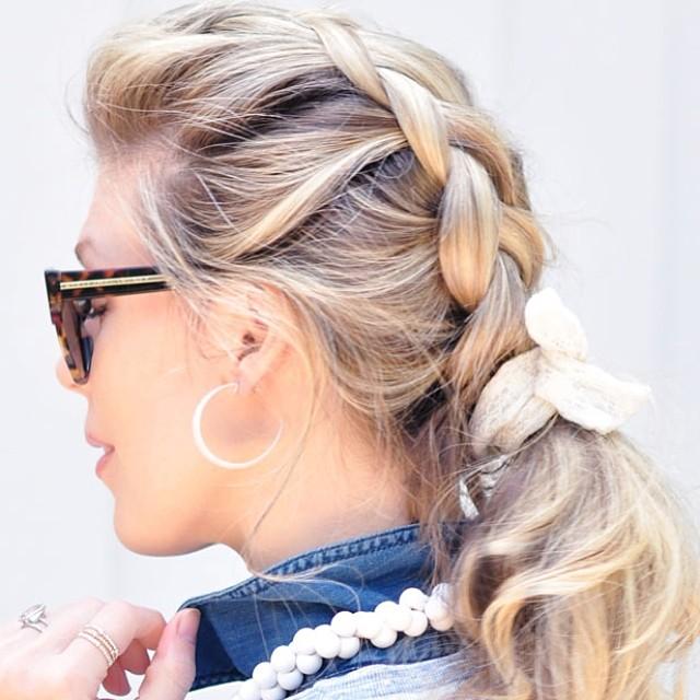 backwards french braid