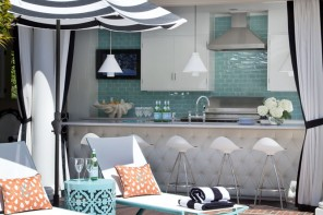 Outdoor Living // Bright & Bold Patio Space