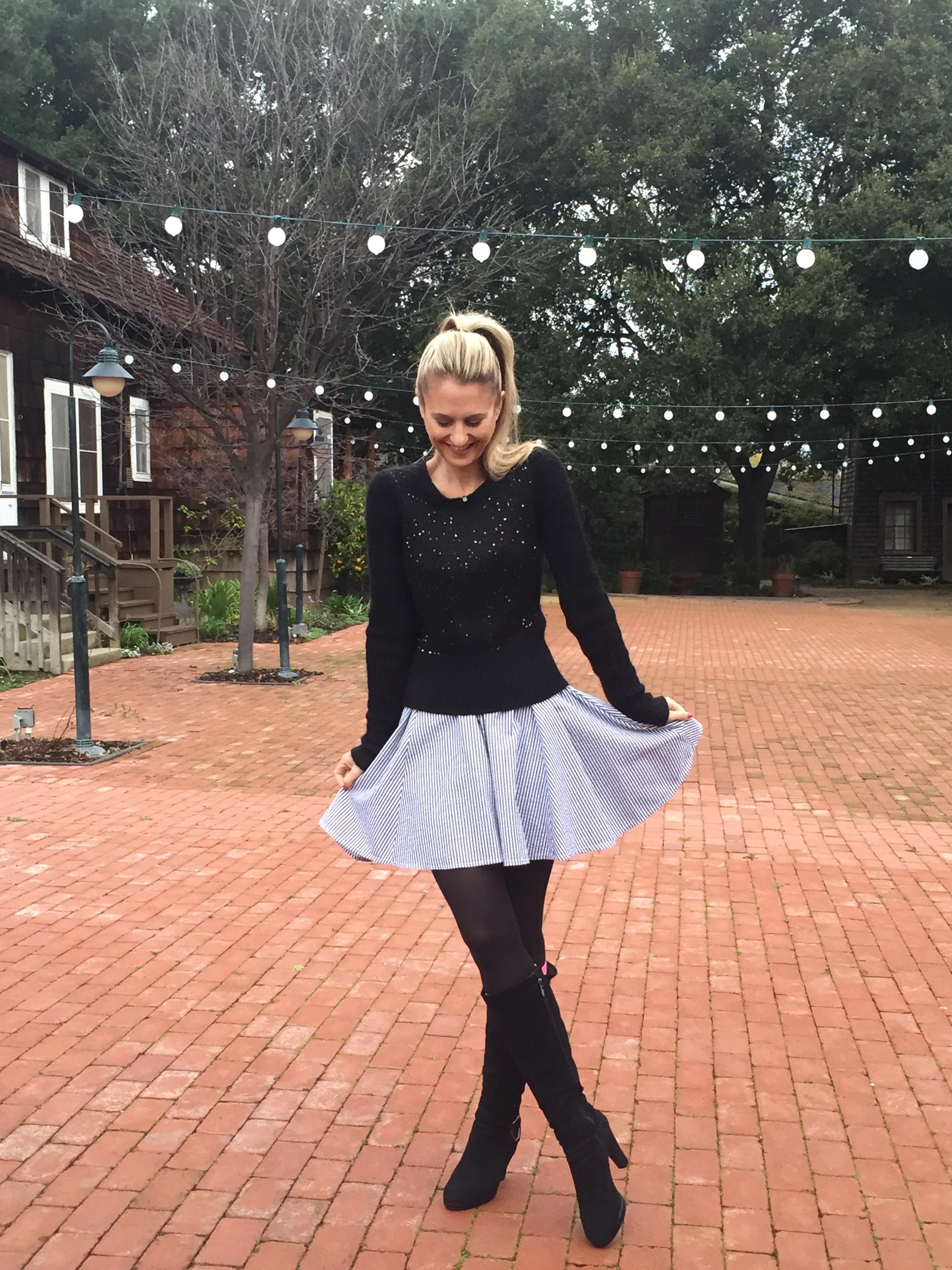 Iva wearing Kate dress by Maegan Tintari