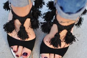 DIY Tassel Heels // Fun & Fancy Ankle Strap Sandals