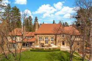 Sunday Property Crush // Lake Arrowhead Peninsula Estate