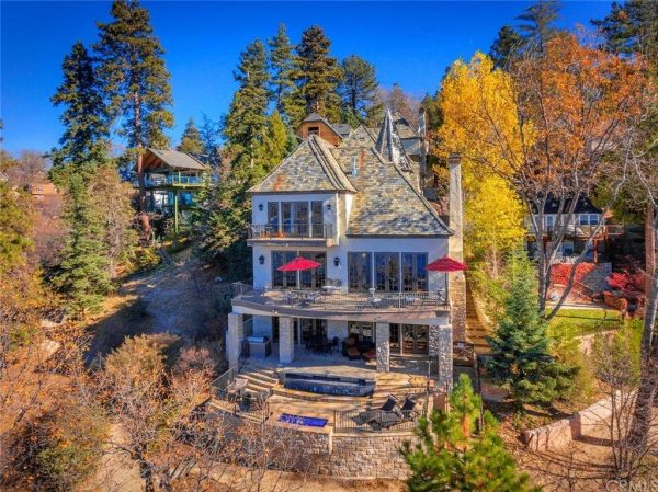 Sammy Hagar's house in lake arrowhead for sale on the lake