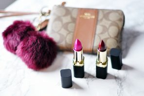 Giveaway! // Coach Logo Wristlet & L'Oreal Makeup & Hair
