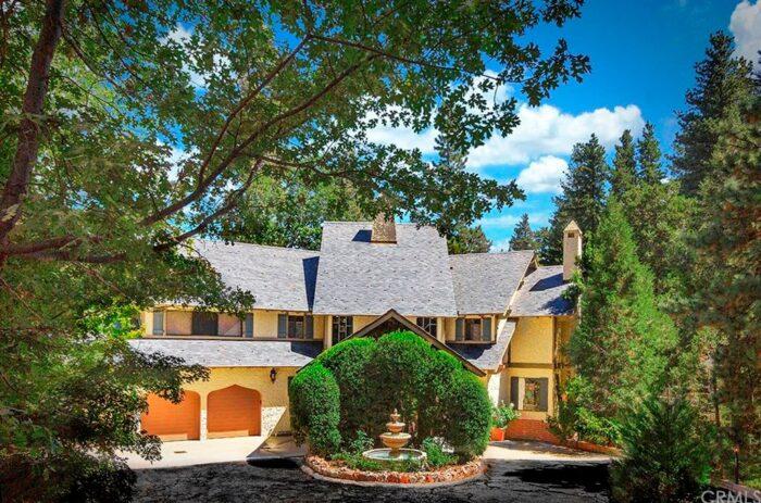 Liberace's Mountain Home in Lake Arrowhead California