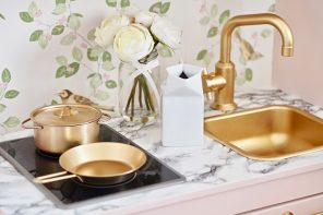 The Most Glamorous  Ikea Duktig Kitchen Makeover Ever!