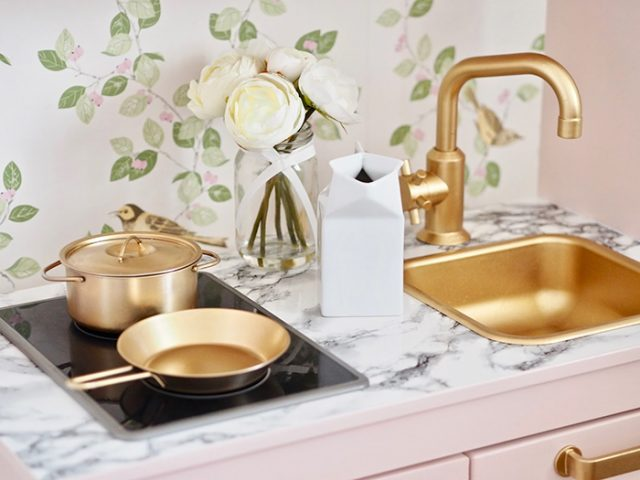 The Chicest Ikea Duktig Kitchen Makeover