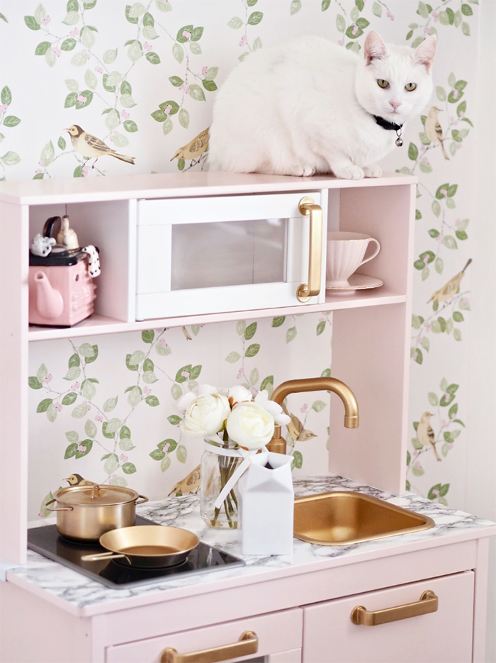 The Chicest Ikea Duktig kids Kitchen Makeover