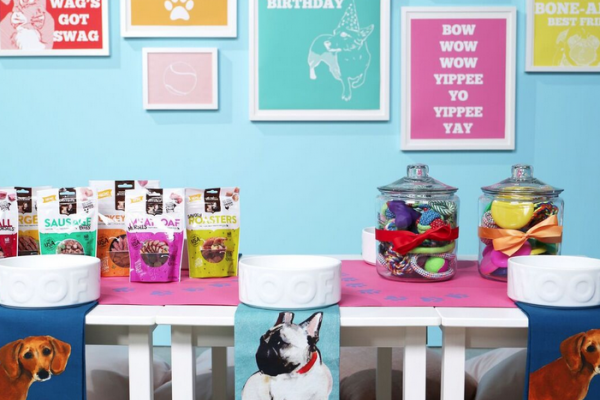 How to Throw a Happy Birthday Dog Pawty with Nutrish dog food -