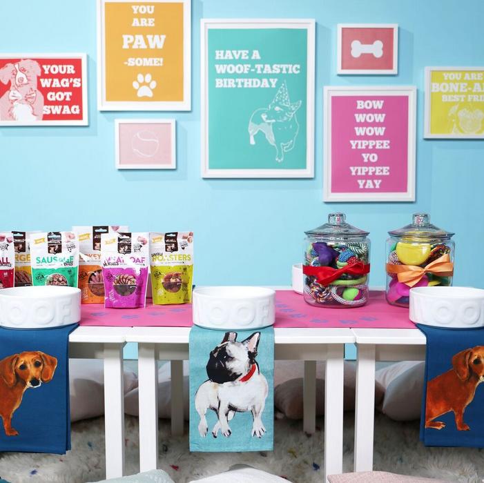 How to Throw a Happy Birthday Dog Pawty with Nutrish dog food -