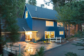 Sunday House Crush // Happy Little Blue House By The Lake