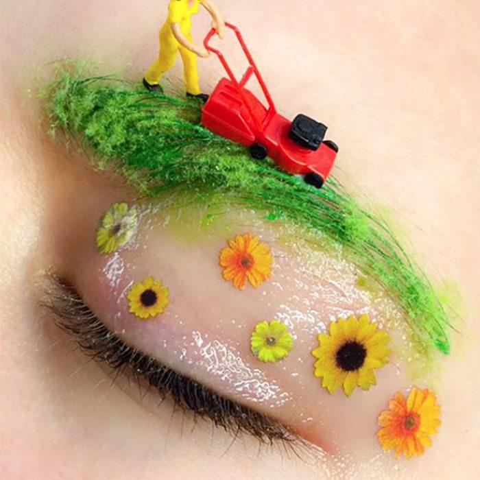 Makeup is art - Artist Martha Butterworth -