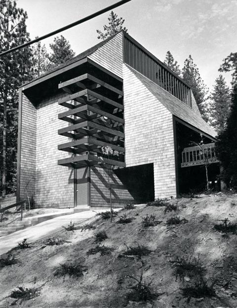 the ferber house in lake arrowhead california