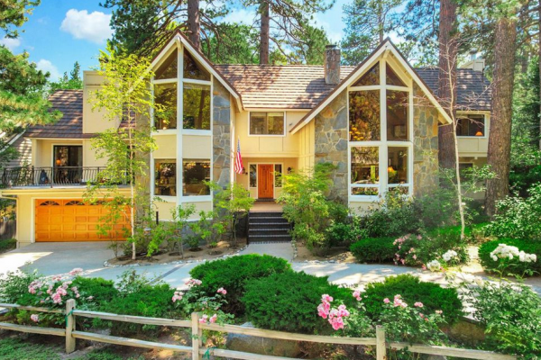 homes for sale in lake arrowhead - double a frame house