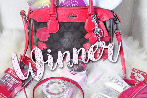 winner coach bag lovemaegan giveaway