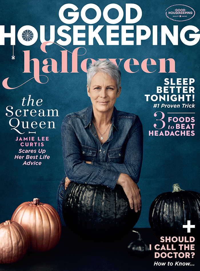 Jamie Lee Curtis on how to live a happy life