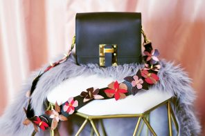 DIY Leather Bag Strap with Flowers Inspired by Fendi Flowerland