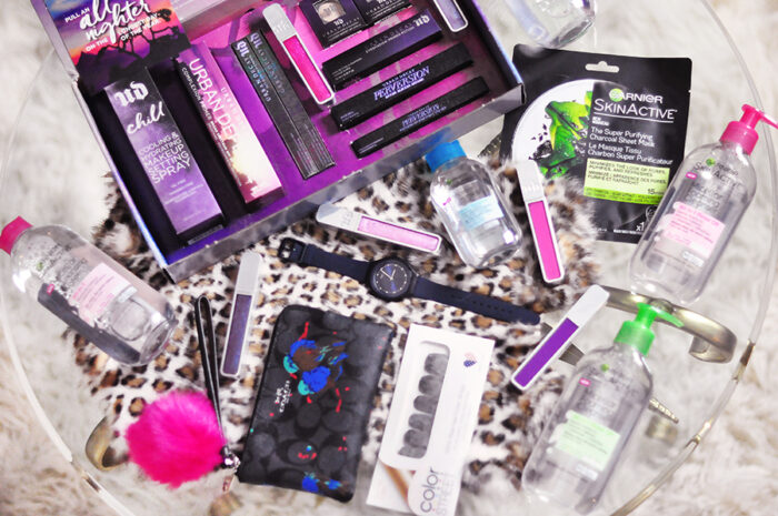 Beauty blogger giveaway - coach bag, swatch watch, urban decay makeup, garnier beauty products, giveaways