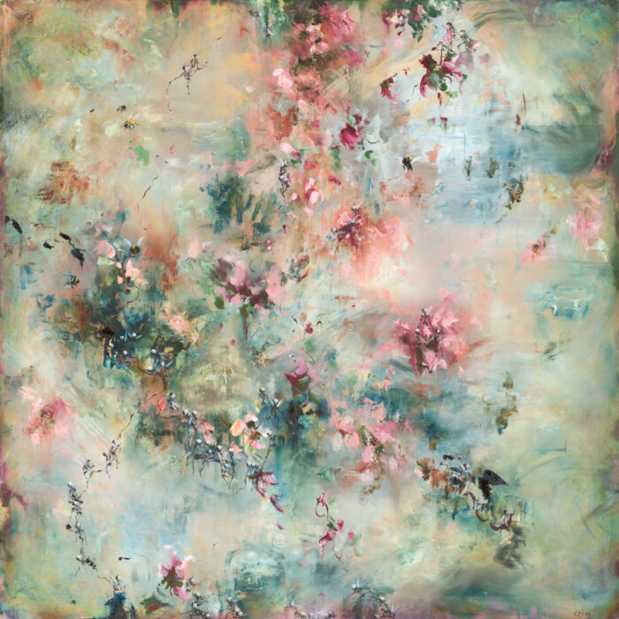 art, artists, artist spotlight, large scale paintings, dreamy art, chris rivers artist, abstract art