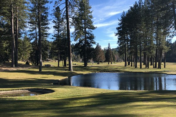 golf course views - lake arrowhead