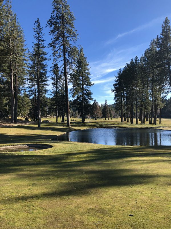 golf course views - lake arrowhead