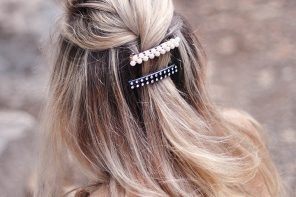 DIY Oversized Chunky Embellished Hair Clips & Barrettes