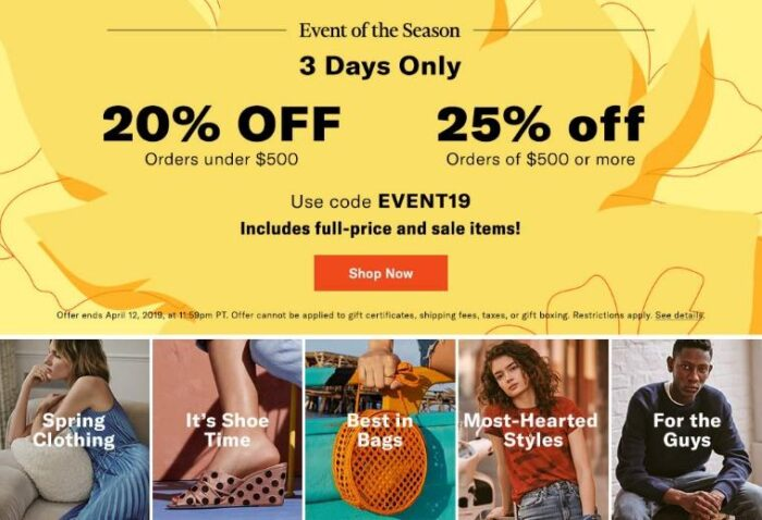 shopbop sale of the season coupon code - spring dresses