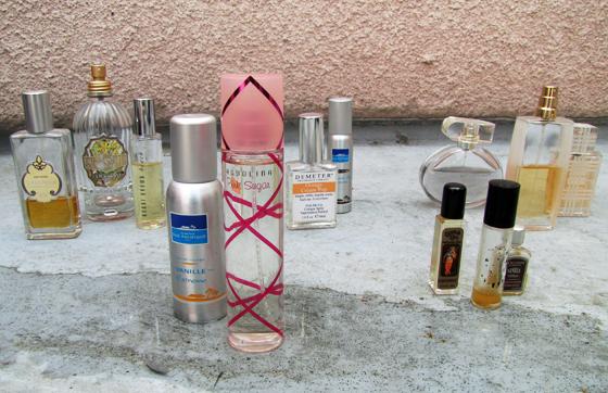 favorite perfumes -vanilla scents