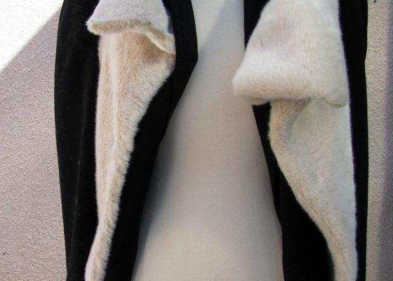 dit faux fur vest
