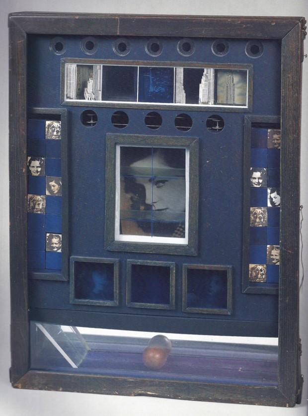 5 Joseph Cornell, Penny Arcade Portrait of Lauren Bacall- working model based upon .