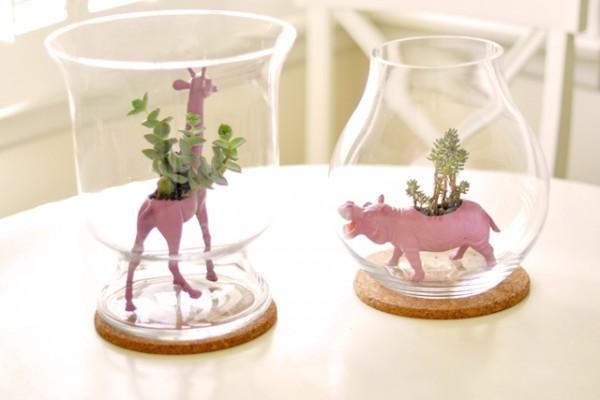 diy animal planters