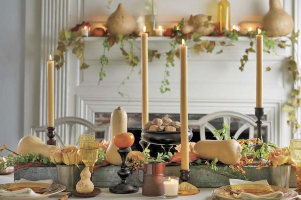 Classic Thanksgiving Decor
