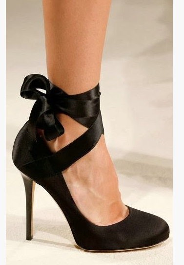 a4df8c1b6dc alberta-ferretti-ss-2014 pumps-with-lace-up-ankle-ribbon-bow