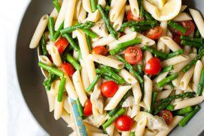 Summer Recipe // Artichoke, Asparagus, & Tomato Pasta Salad