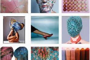 Artist Spotlight: Yvonne Gold, Instagram Triptychs
