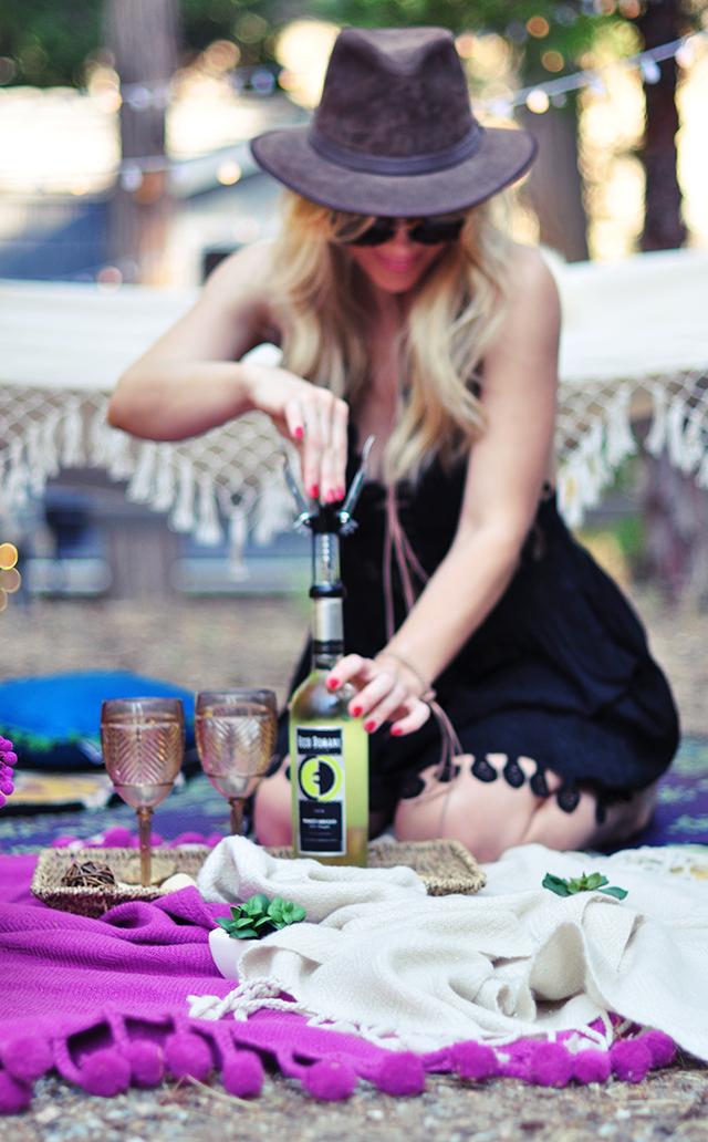 Boho Backyard escape-Ecco Domani Wine_Pinot Grigio-3