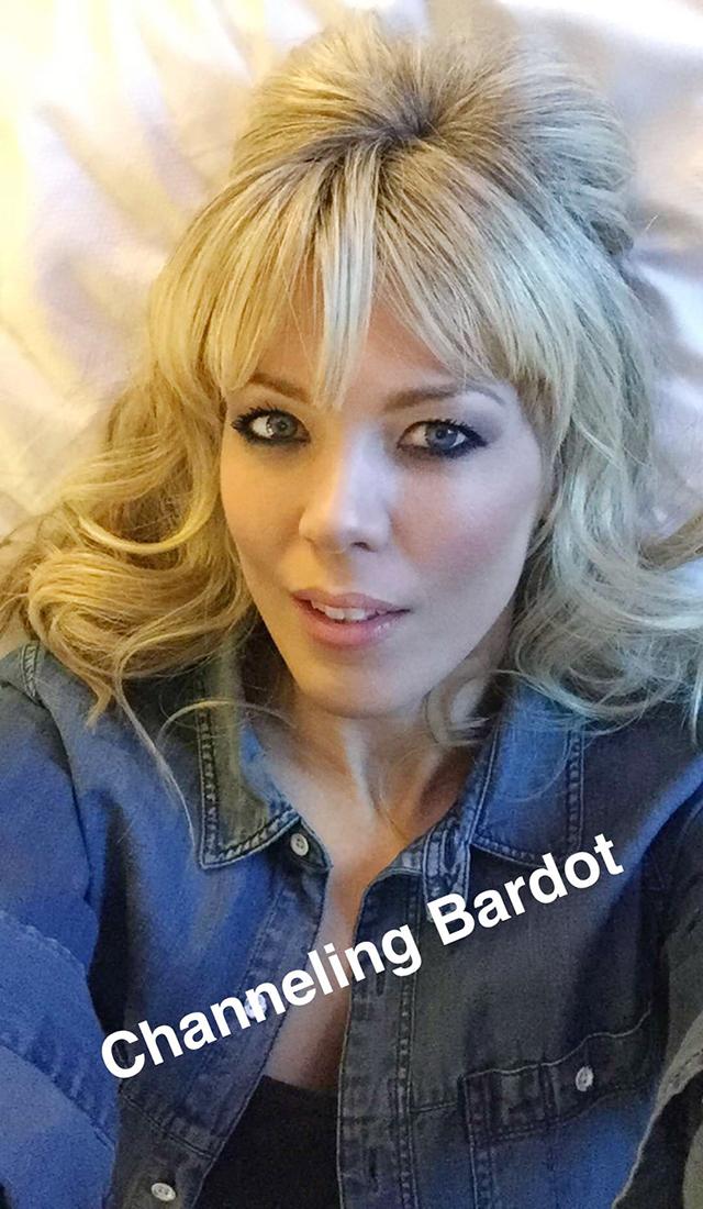 Channeing Bardot -hair+makeup_ loveMaegan Snapchat