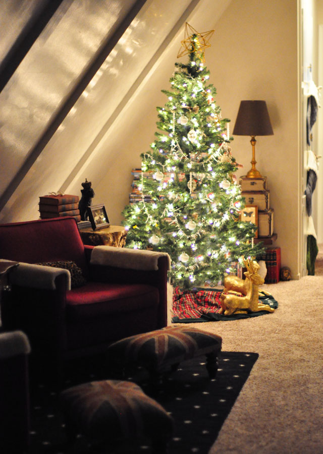 Christmas Tree - in hallway