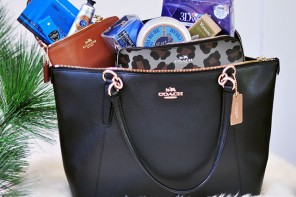 3 Coach Bags + 7 Beauty Faves Fall Classics Giveaway!