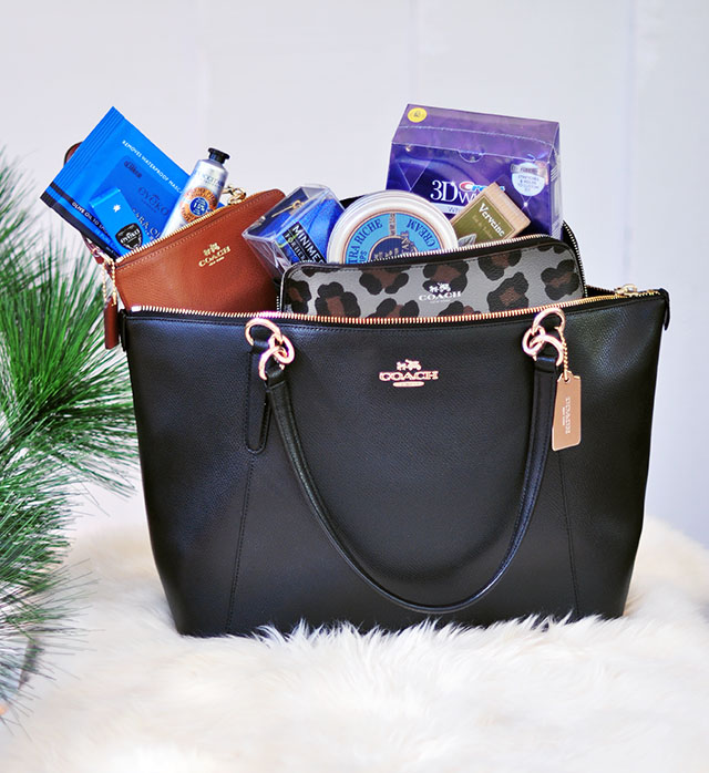 Coach bag giveaway+beauty faves_loveMaegan