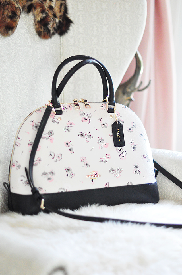coach purse outlet clearance hp16  flower coach bag