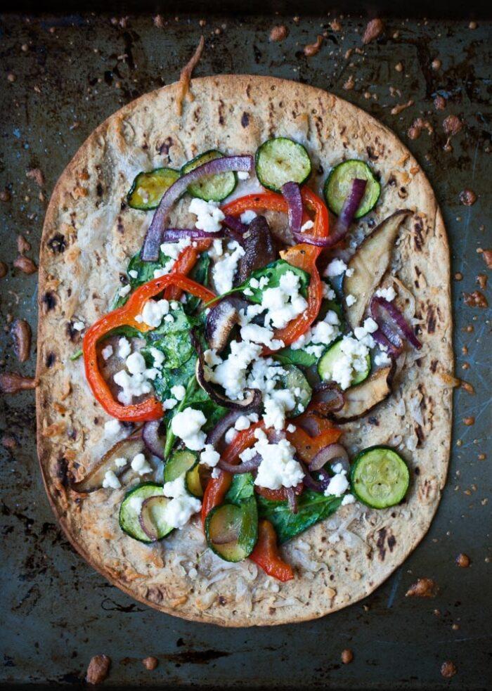 Crispy-Roasted-Veggie-Flatbread-Pizza-4