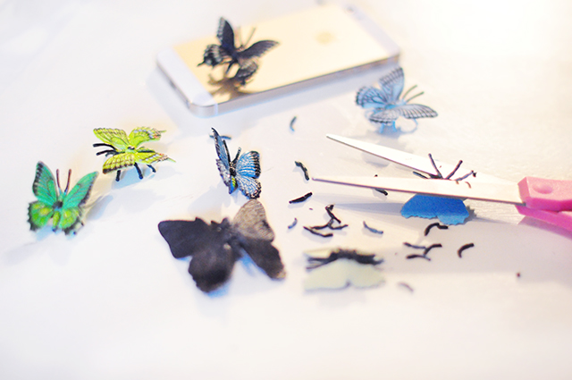 DIY Butterfly iPhone Case-3