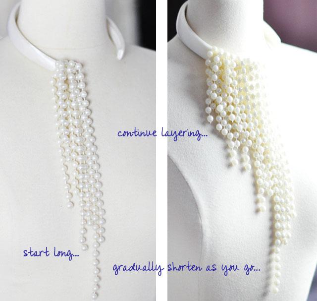 DIY Dior necklace -7-1