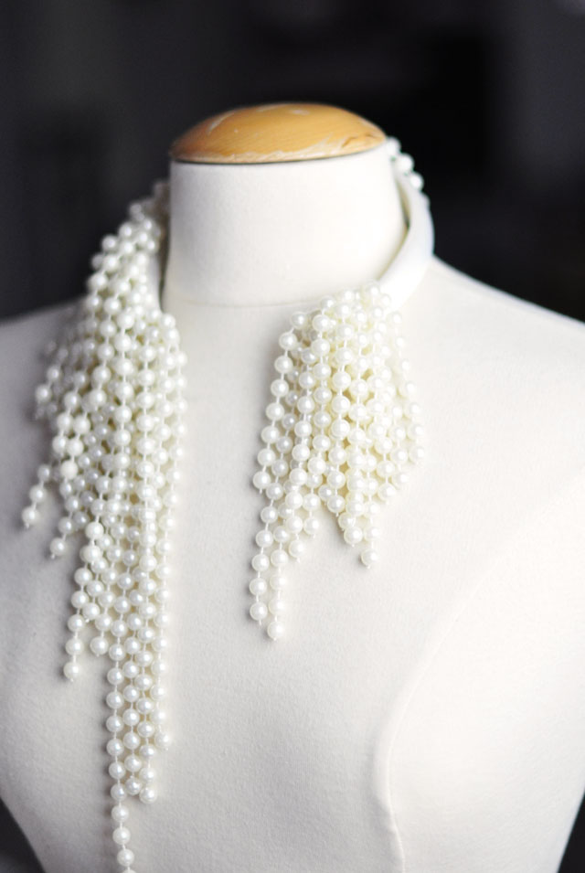 DIY Dior necklace -9
