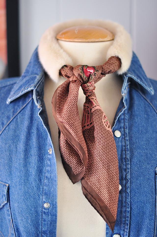 DIY Faux Fur Scarf necktie-6