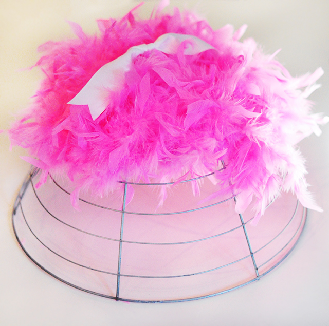 DIY Feather Canopy for kids-6