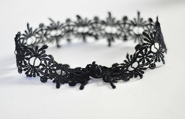 Lace Choker DIY — Crafthubs