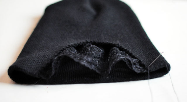 DIY Lace Front Beanie 6