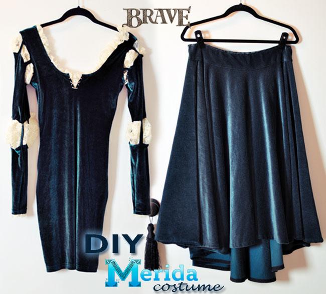 DIY Merida Brave Costume Authentic-